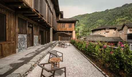 Tsingpu Tulou Retreat Terrace in Zhangzhou