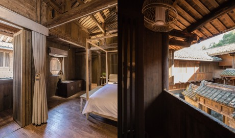 Tsingpu Tulou Retreat Guestroom in Zhangzhou