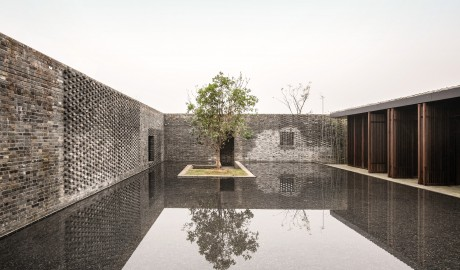 Tsingpu Yangzhou Retreat Exterior Architrecture in Yangzhou