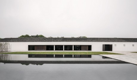 Tsingpu Yangzhou Retreat Exterior Architecture in Yangzhou