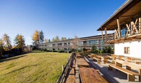 Vigilius Mountain Resort M11 Architecture in Lana