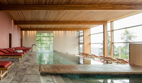 Vigilius Mountain Resort Indoor Pool Mountain View M 14