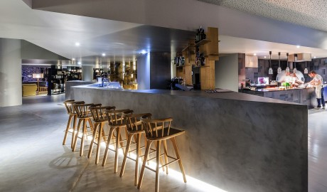 Villa C Boutique Hotel Bar Interior in Vila do Conde