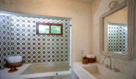 Villa la Semilla Bathroom in Tulum
