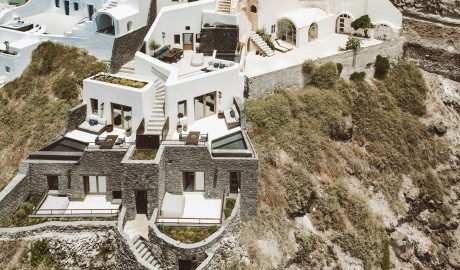 Vora Architecture Terrace on Santorini