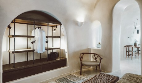 Vora Guestroom on Santorini