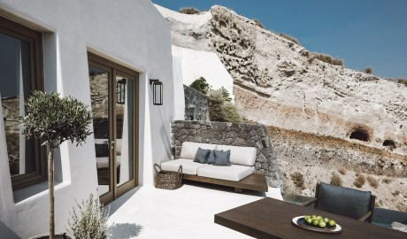 Vora Sofa on Santorini