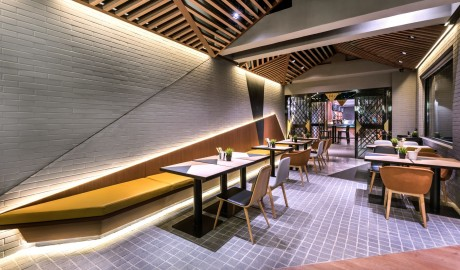 Vue Hotel Houhai Beijing Dining Area in China