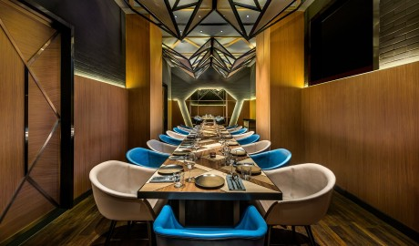 Vue Hotel Houhai Beijing Restaurant Interior in China