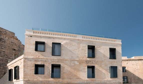 Cugo Gran Macina Grand Harbour Facade in Senglea