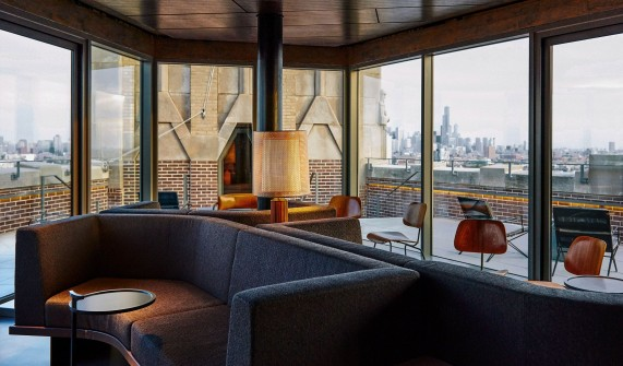 architecture design at the robey in chicago design hotels