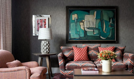 The Soho Hotel Sofa in London