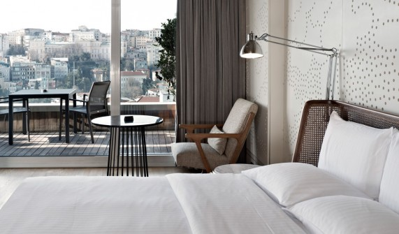 Balcony suite view witt hotel istanbul