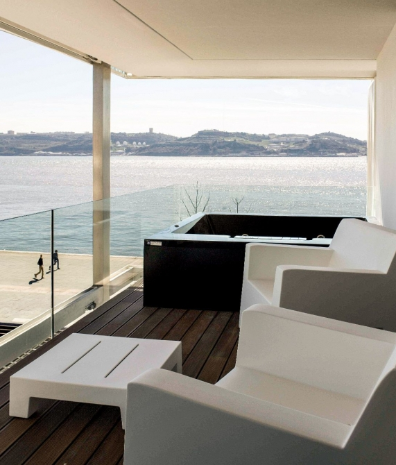 Altis Belem Hotel and Spa Terrace in Lisbon