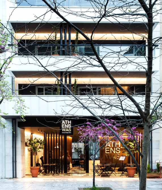 Athenswas hotel athens greece design hotels for Design hotel athens