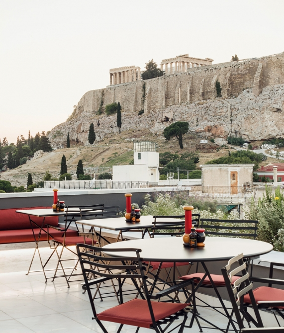 AthensWas Terrace in Athens
