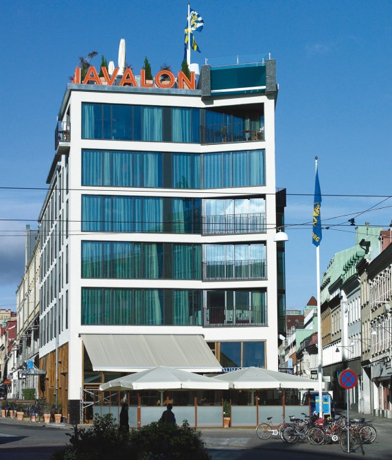 architecture design at avalon hotel in gothenburg