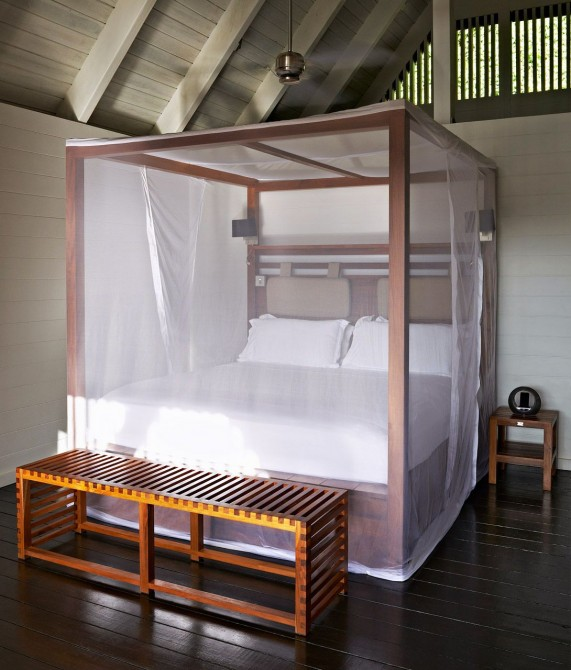 Boucan by Hotel Chocolat Bed in Saint Lucia