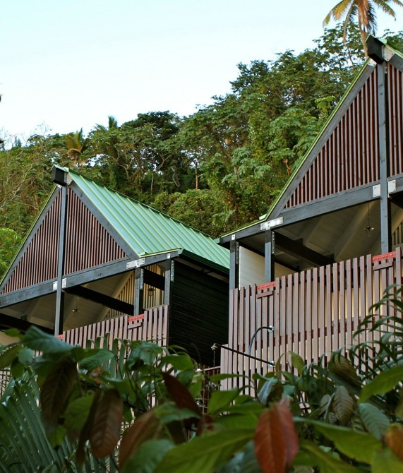 Boucan by Hotel Chocolat Buildings in Saint Lucia