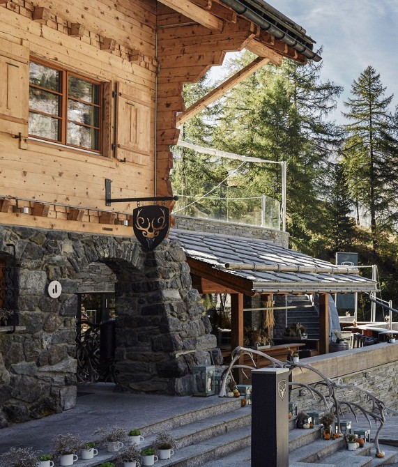 Cervo Mountain Boutique Resort Building in Zermatt