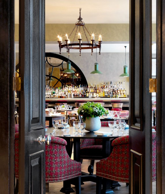 Covent Garden Hotel Bar in London