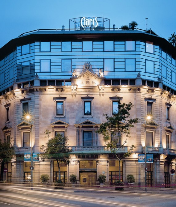 Claris Hotel and Spa Street View in Barcelona