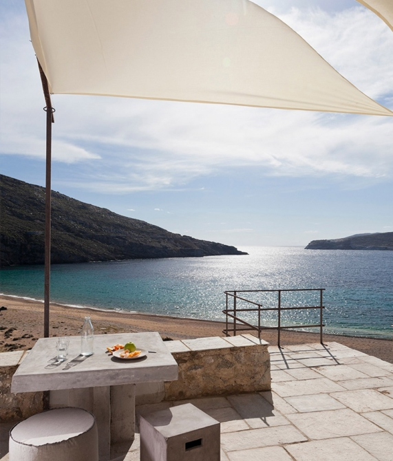 Coco-Mat Eco Residences Serifos Terrace in Greece