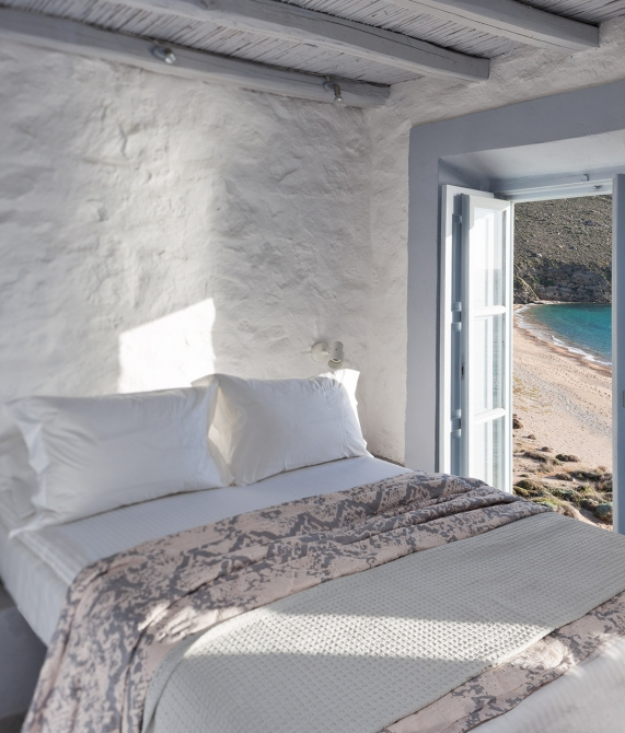 Coco-Mat Eco Residences Serifos Bed in Greece