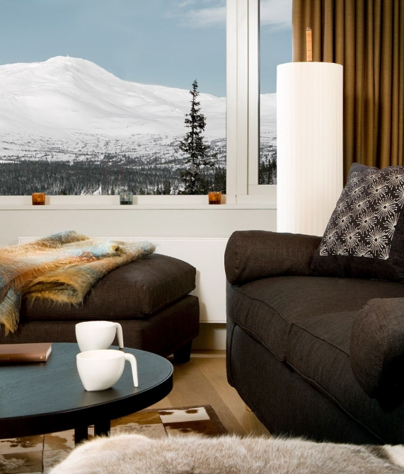 Copperhill Mountain Lodge Bedroom in Are