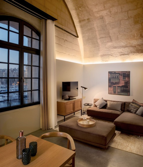 Cugo Gran Macina Grand Harbour Suite in Senglea