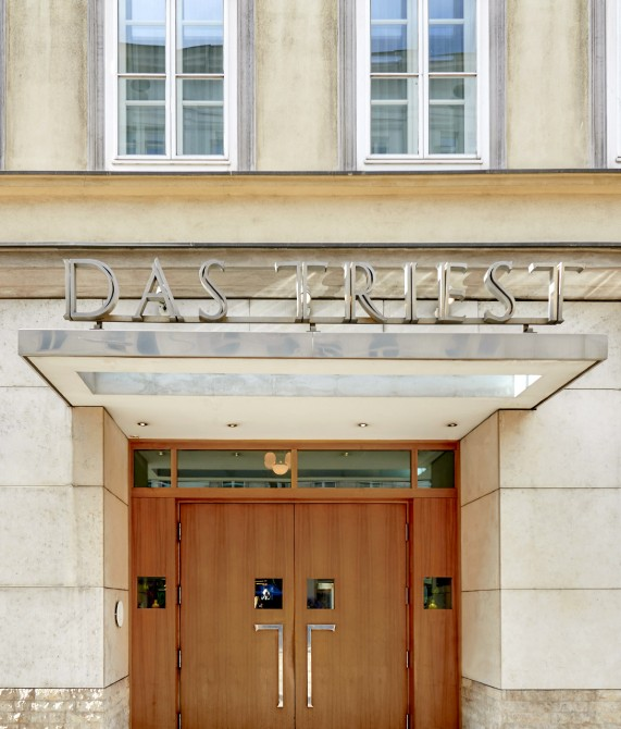 Das Triest Entrance in Vienna