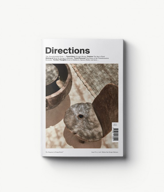 The Design Hotels Directions Magazine 2018