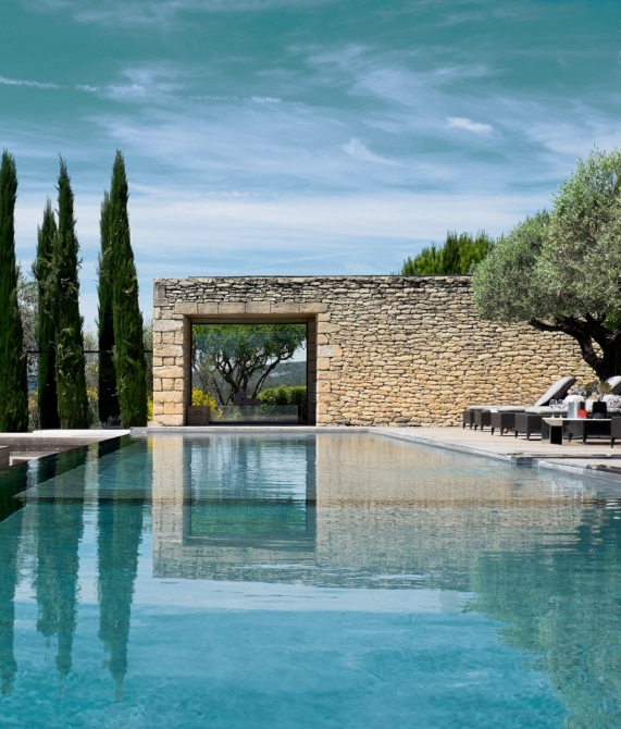 Domaine des Andeols Swimming Pool in Provence