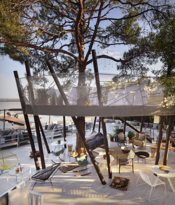 Ekies All Senses Resort Restaurant in Halkidiki