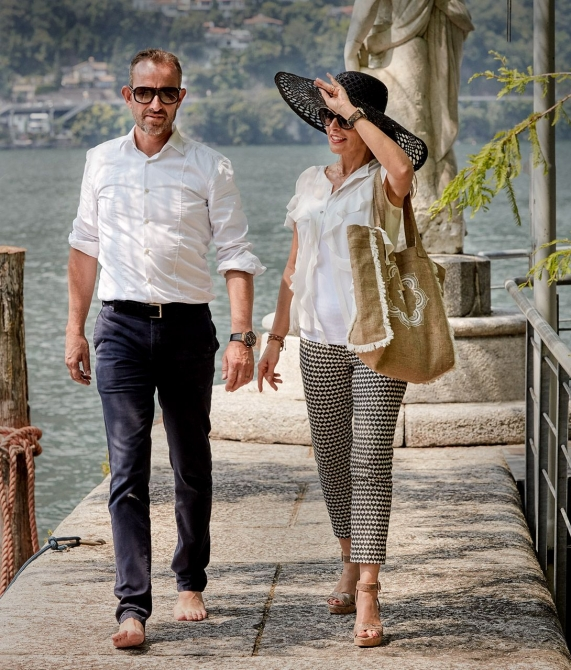 Giardino Ascona Couple in Switzerland