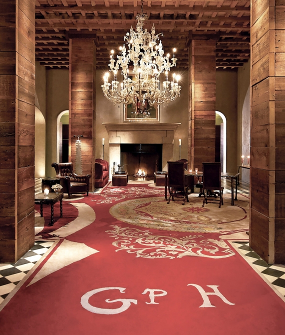 Gramercy Park Hotel Lobby in New York City