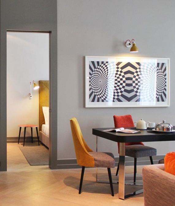 H15 Boutique Hotel Rooms in Warsaw