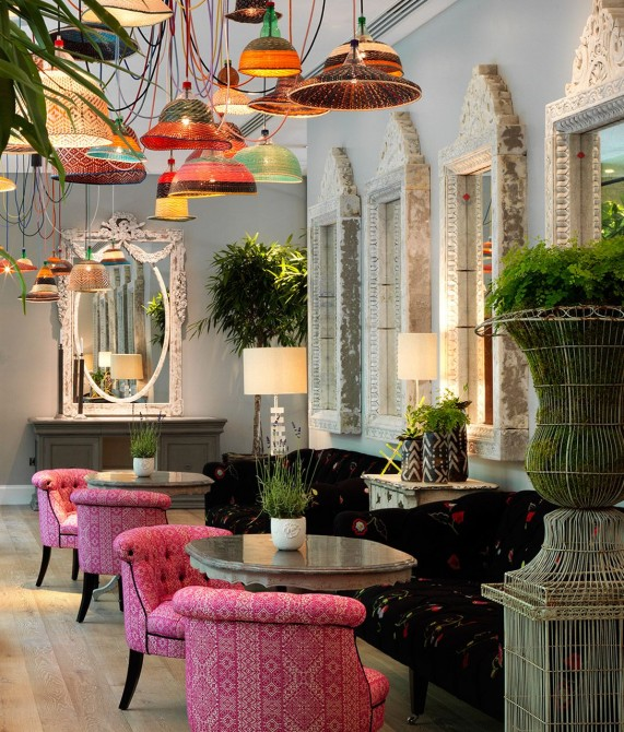 Ham Yard Hotel Lamps in London