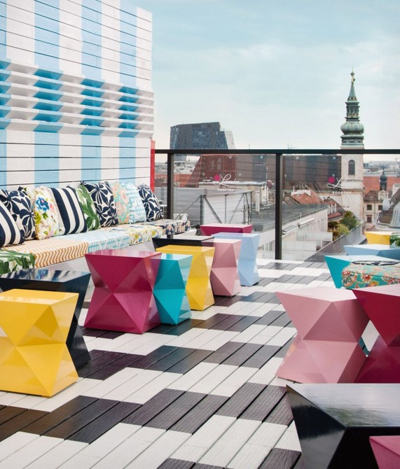 Hotel Lamee Rooftop in Vienna