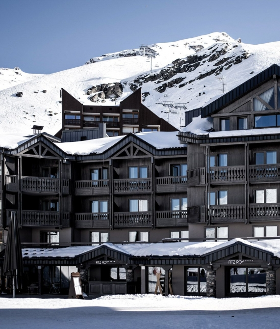 Le Fitz Roy Architecture in Val Thorens