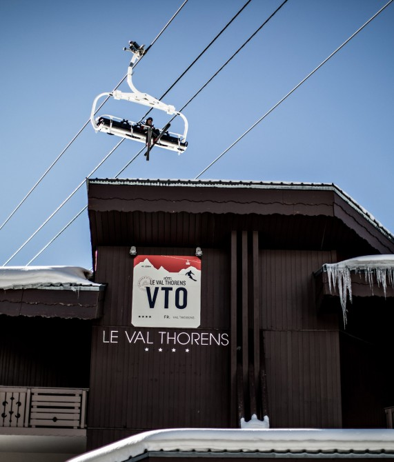 Hotel Le Val Thorens Facade in Val Thorens