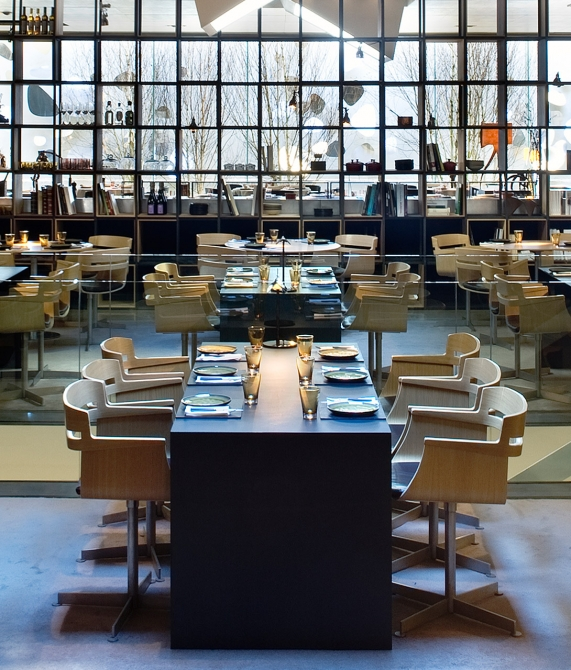 Hotel Omm Restaurant in Barcelona