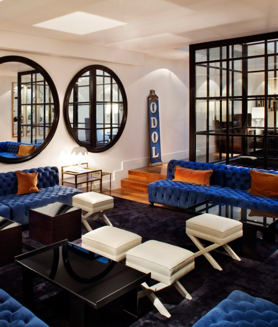 Hotel pulitzer buenos aires argentina design hotels - Wallpaper trompe houtlook ...