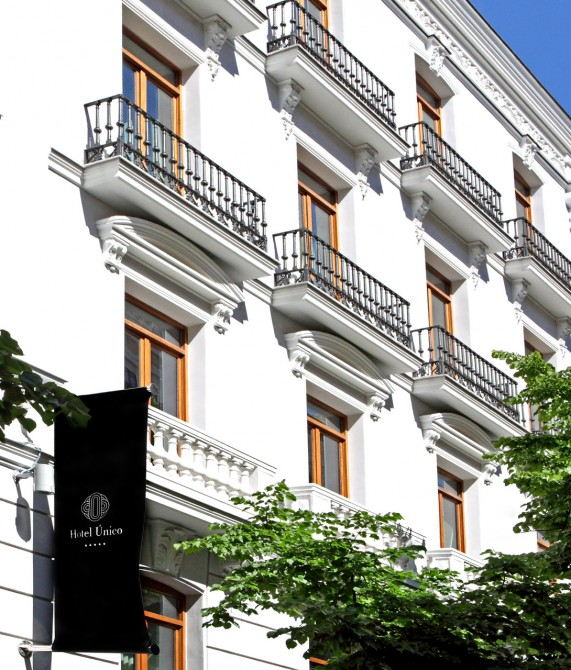 Hotel unico madrid spain design hotels for Design hotel madrid