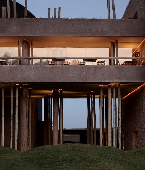 Kenoa Beach Resort Architecture in Barra de Sao Miguel