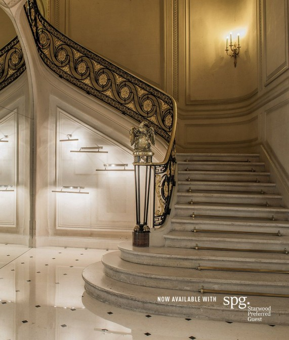 La Maison Champs Elysees Staircase in Paris