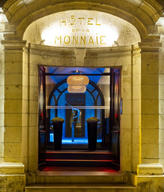 La Monnaie Art and Spa Hotel Entrance in La Rochelle