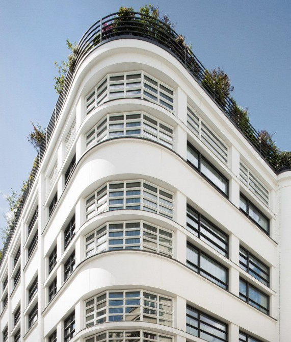 Le Cinq Codet Facade in Paris