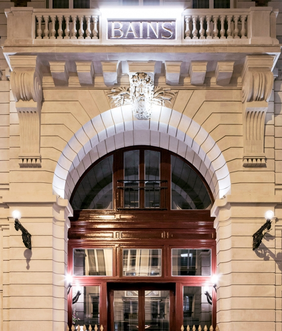 Les bains paris france design hotels for Hotel design original paris