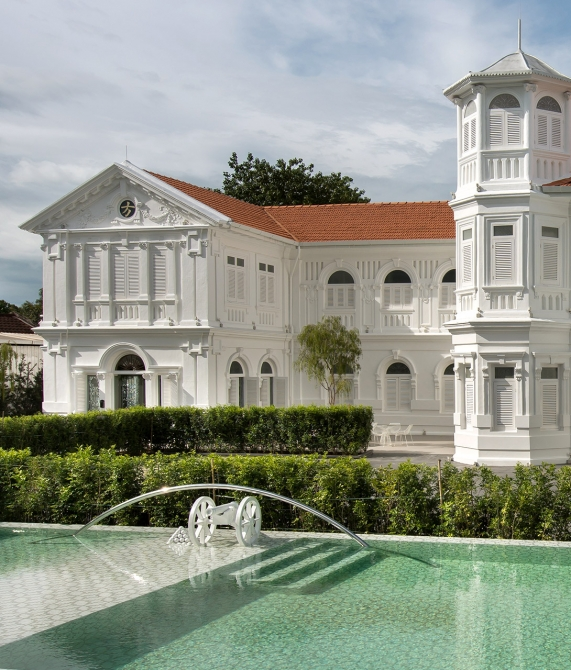 Macalister Mansion Pool in George Town